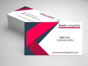 mockup tarjeta de presentacion para profesionales